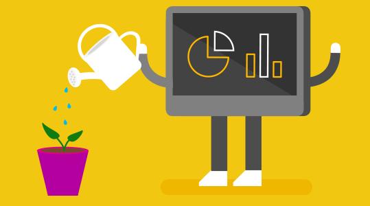 Вдъхнете живот на бизнес данните си с Power BI