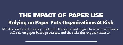 Защо хартиените документи излагат  организациите на риск?