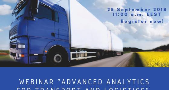 """Уебинар """"Advanced Analytics за транспортни и логистични компании"""""""